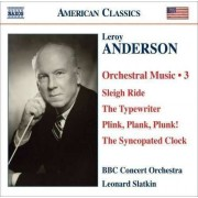 Anderson - Orchestral Works Vol.3 (0636943935729) (1 CD)