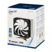ARCTIC Freezer i32, dissipatore per CPU con ventola da 120 mm per Intel, dotato di nuovo controllo di ventilazione. Prodotto in Germania. Tecnologia PST, PWM (pulsazioni modulate in ampiezza)