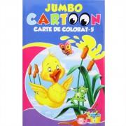 Jumbo cartoon - Carte de colorat nr. 5