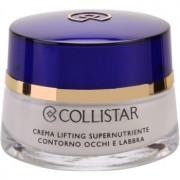 Collistar Special Anti-Age creme esfoliante hidratante para contornos dos olhos e lábios 15 ml