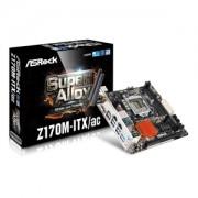 Placa de baza AsRock Z170M-ITX/ac, socket 1151