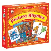 I Spy a Mouse in the House! Picture Rhymes Board Game: 3 Games to Play!