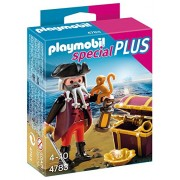 Playmobil Especiales Plus - Pirata con cofre del tesoro, playset (4783)