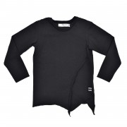 Bluza Strings - negru, 6-8 ani