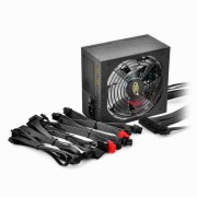 "SURSA DEEPCOOL, 500W (real), fan 120mm PWM, 80 Plus Bronze, 85% eficienta, 2x PCI-E (6+2), 5x S-ATA ""DA500"""