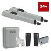 Kit automatizare pentru porti batante FAAC KIT 415 24V