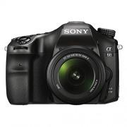 Sony Alpha A68K 24.2 MP Digital SLR Camera (Black) with 18-55 mm Lens (ILCA-68K)Free(sony bag ,model number MII-SC5)
