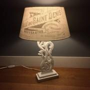Schaduw lamp met sticker