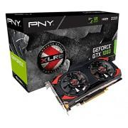 PNY KF1060GTXXG6GEPB GeForce GTX 1060, 6 GB XLR8 OC Gaming, Nero