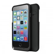 4800mAh Power Bank Battery Case for iPhone 6/6S Plus - Black