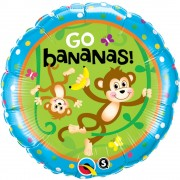 "Balon Folie 45 cm ''It's your birthday"", Qualatex 49927"
