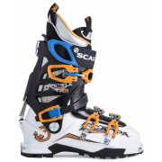 Scarpa Maestrale RS - White/Orange - Skischuhe