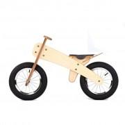 DipDap детско колело за баланс, дървено, зелено