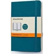 Moleskine Soft Cover Underwater Blue Pocket Ruled Notebook by Moleskine