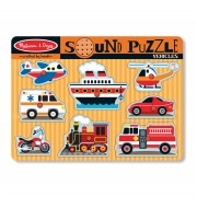 Melissa & Doug Vehicles Sound Puzzle - 725