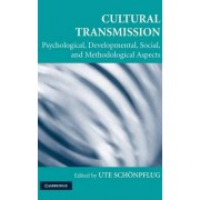 Cultural Transmission by Ute Sch