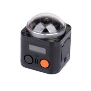 Mini camera WiFi cu filmare 360 grade - wireless