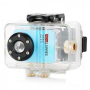 Smartron mini 720P camara de video digital a prueba de agua - azul cielo