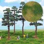 Busch bodembedekk.: heiderand 3-kleurig 1309