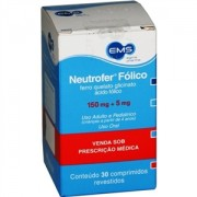 Neutrofer Fólico 150mg 5mg c/ 30 Comprimidos