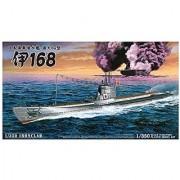 Aoshima Models Ijn Submarine I 168 Model Kit (1/350 Scale)