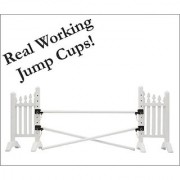 Model Horse Jumps - Fence Jump - Real Jump Cups