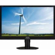 Monitor LED 23 Philips 231S4QCB Full HD Negru