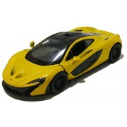 Kinsmart 1:36 Scale Die-Cast 5'' McLaren P1 with Openable Doors & Pull Back Action (Yellow)