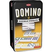 Tactic Domino Double 12 Tile-based board game - Juego de tablero (Children & Adults, Niño/niña, DUT, Interior, Tile-based board game, Caja)