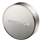 Olympus LC-61 Lens cap silver (metal) for the M7518