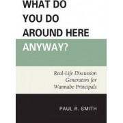 What Do You Do Around Here Anyway? by Paul R. Smith