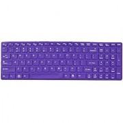Avigator Purple Ultra Thin Silicone Keyboard Protector Skin Cover for IBM Lenovo IdeaPad Z500 Z510 Z510p Z580 Z585