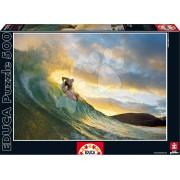Puzzle Genuine Surf Educa 500 de piese 15970 colorat