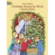 Christmas Around the World Coloring Book by Joan O'Brien