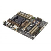 ASUS SABERTOOTH 990FX - 2.0 - carte-mère - ATX - Socket AM3+ - AMD 990FX - USB 3.0 - Gigabit LAN - audio HD (8 canaux)