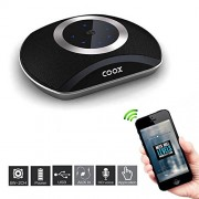COOX Bluetooth Speaker,Portable Wireless Stereo Speaker Mini HiFi with Mp3 Subwoofer - Boom Box - 4 Unit Speaker - Inbuilt Rechargeable Battery for Tablet,Laptop,Computer,Mobile Phone Sony,Samsung, Apple Iphone, Micromax, iball, Moto, One plus, Mi, Intex,