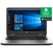 Laptop HP ProBook 640 G3 Intel Core Kaby Lake i5-7200U 256GB 8GB Win10 Pro FullHD Fingerprint