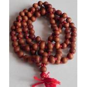 Japa Mala - White Rosary - 10 mm