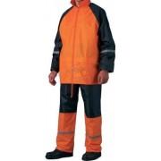 Jólláthatósági orkánruha narancs L