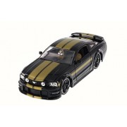 2006 Ford Mustang Gt, Black Jada 90658 Yv 1/24 Scale Diecast Model Toy Car