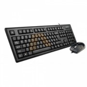 Kit Tastatura + Mouse A4Tech KRS-8572-USB Negru