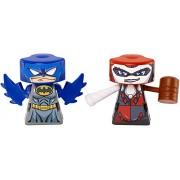 VS Rip-Spin Warrior Figure DC Comics Batman 2 & Harley Quinn Figure (2 Pack)