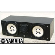 Yamaha Center Speaker NS - C10MM (Black) 2 way Bass reflex, Wooden Cabinet, 125watts))