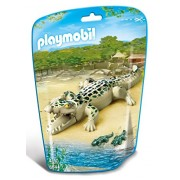 Playmobil 6644 - Alligatore con Cuccioli