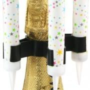 Sparkler Clip - Porta Candela a fontana per Bottiglia a Clip