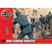 Airfix A01726 1:72 Scale WWI German Infantry Figures Classic Kit Series 1