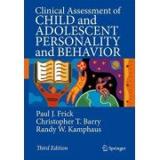 Clinical Assessment of Child and Adolescent Personality and Behavior by Paul J. Frick