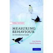 Measuring Behaviour by Paul Martin