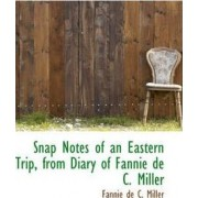 Snap Notes of an Eastern Trip, from Diary of Fannie de C. Miller by Fannie De C Miller