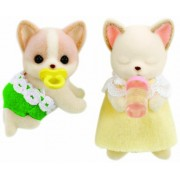 Baby twins of Sylvanian Families doll family Chihuahua Chihuahua (japan import)